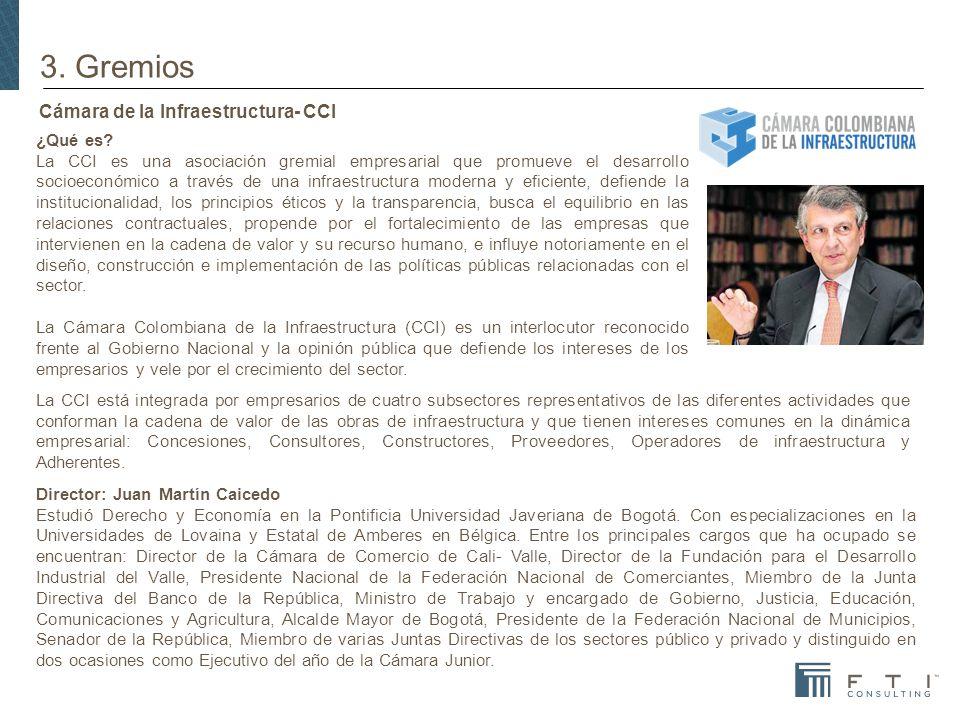 Cámara de la Infraestructura- CCI ¿Qué es.