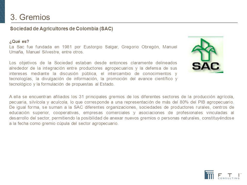 Sociedad de Agricultores de Colombia (SAC) ¿Qué es.