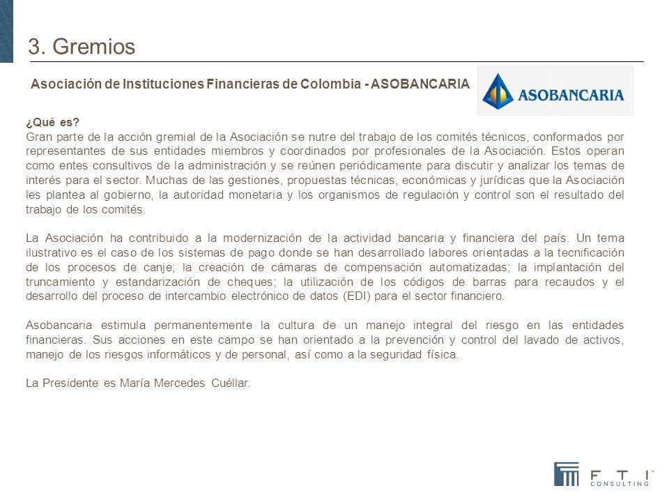 Asociación de Instituciones Financieras de Colombia - ASOBANCARIA ¿Qué es.