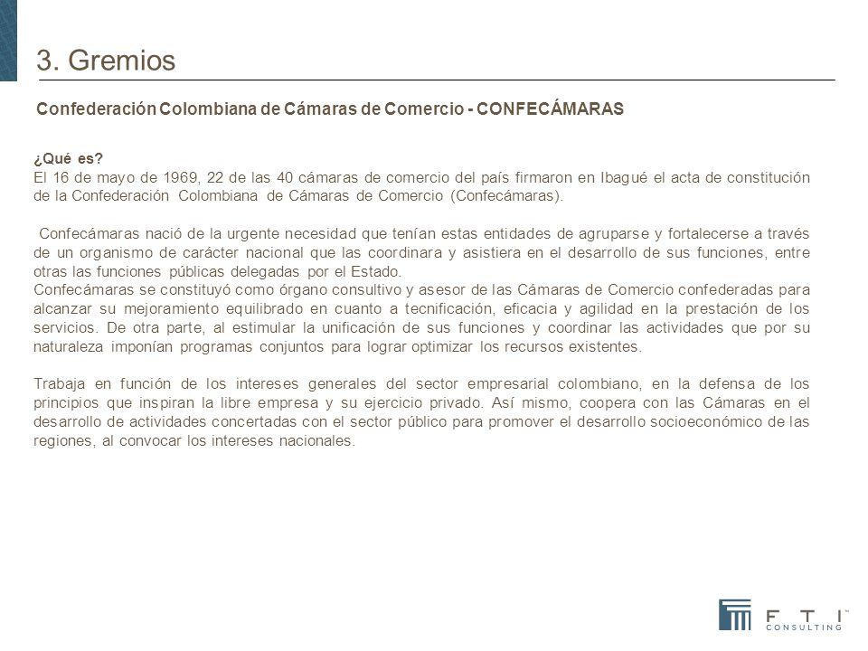 Confederación Colombiana de Cámaras de Comercio - CONFECÁMARAS ¿Qué es.