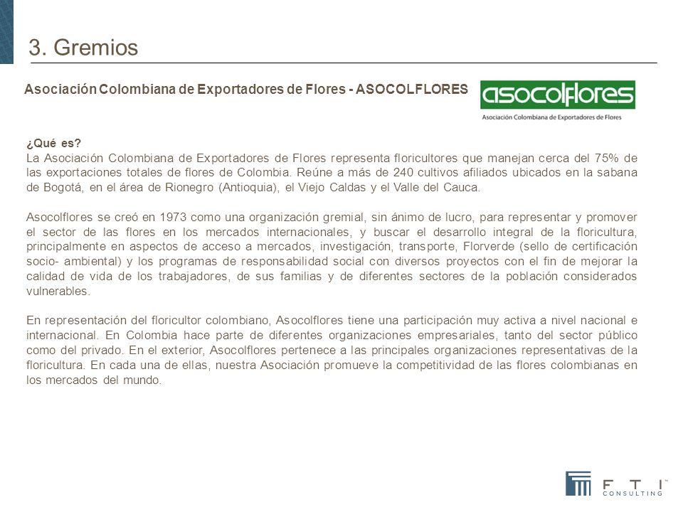 Asociación Colombiana de Exportadores de Flores - ASOCOLFLORES ¿Qué es.