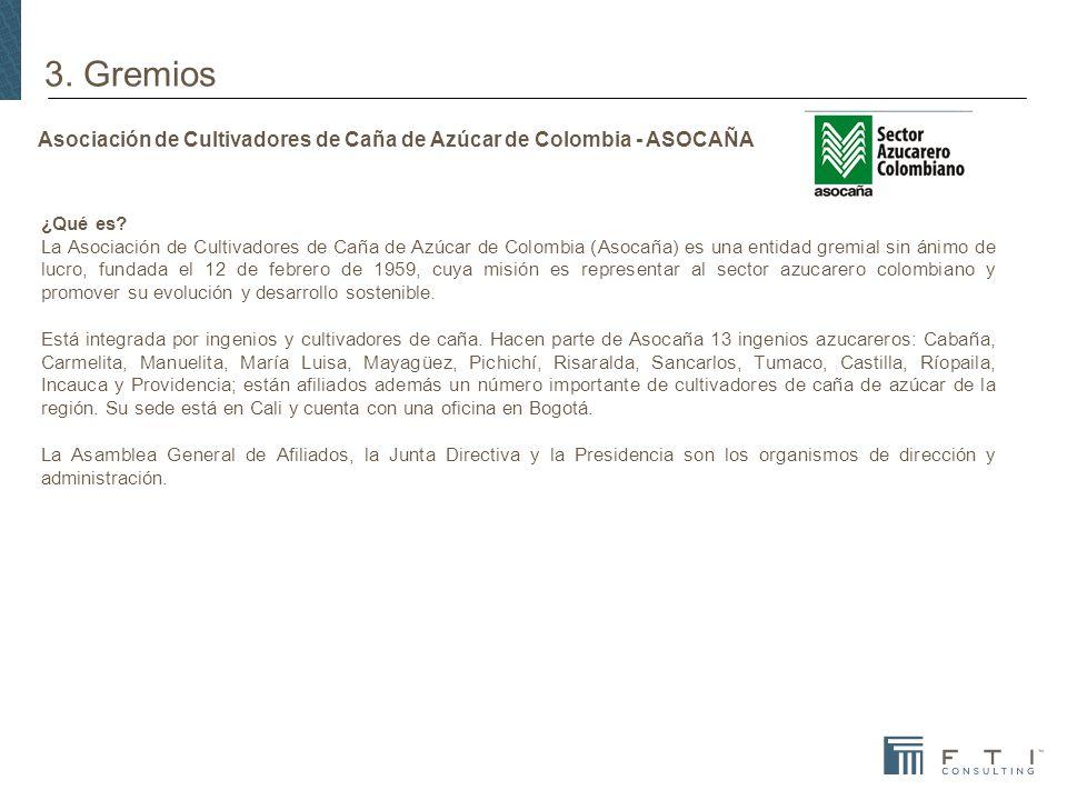 Asociación de Cultivadores de Caña de Azúcar de Colombia - ASOCAÑA ¿Qué es.