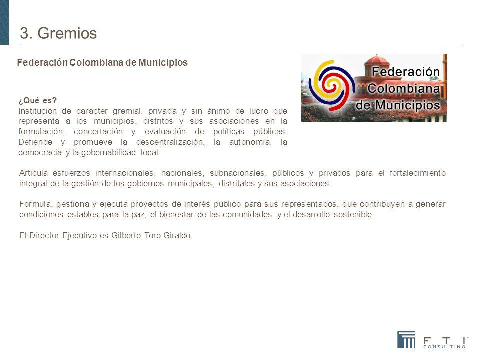 Federación Colombiana de Municipios ¿Qué es.