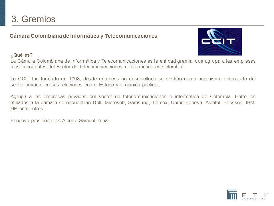 Cámara Colombiana de Informática y Telecomunicaciones ¿Qué es.