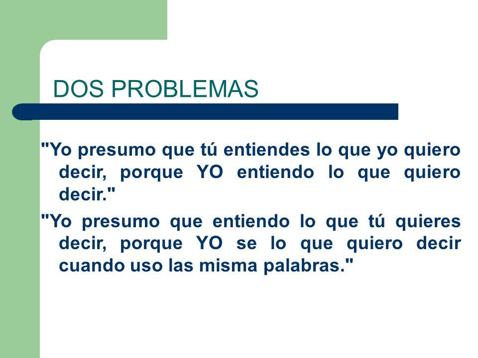 DOS PROBLEMAS