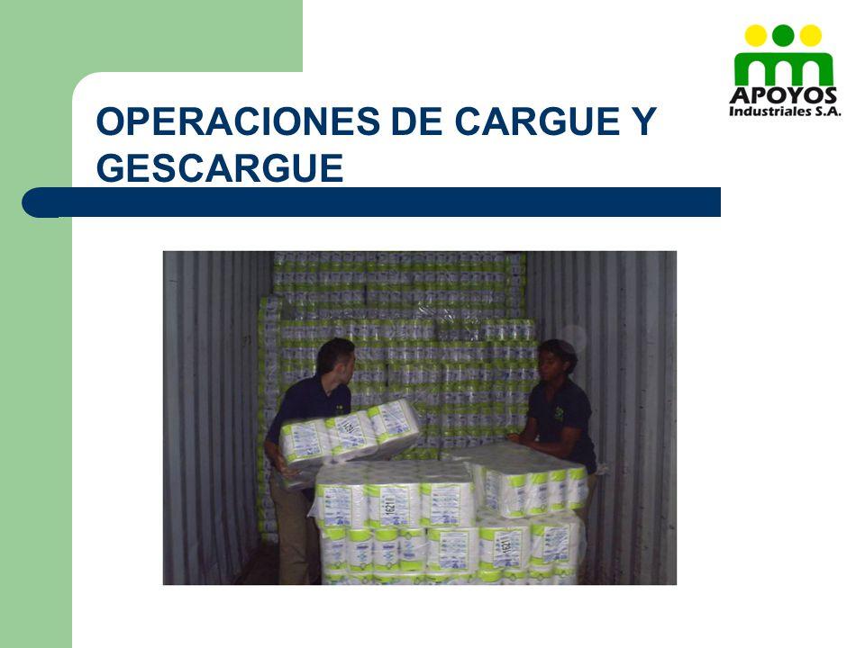 OPERACIONES DE CARGUE Y GESCARGUE