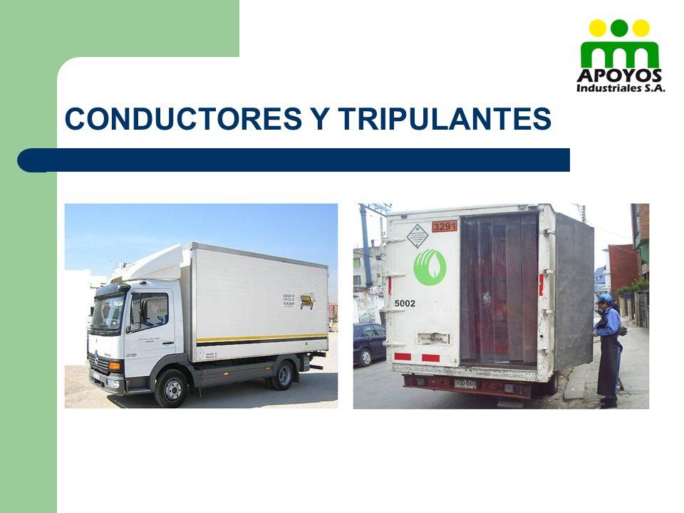 CONDUCTORES Y TRIPULANTES
