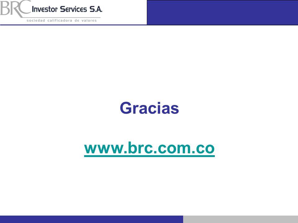 Gracias www.brc.com.co www.brc.com.co
