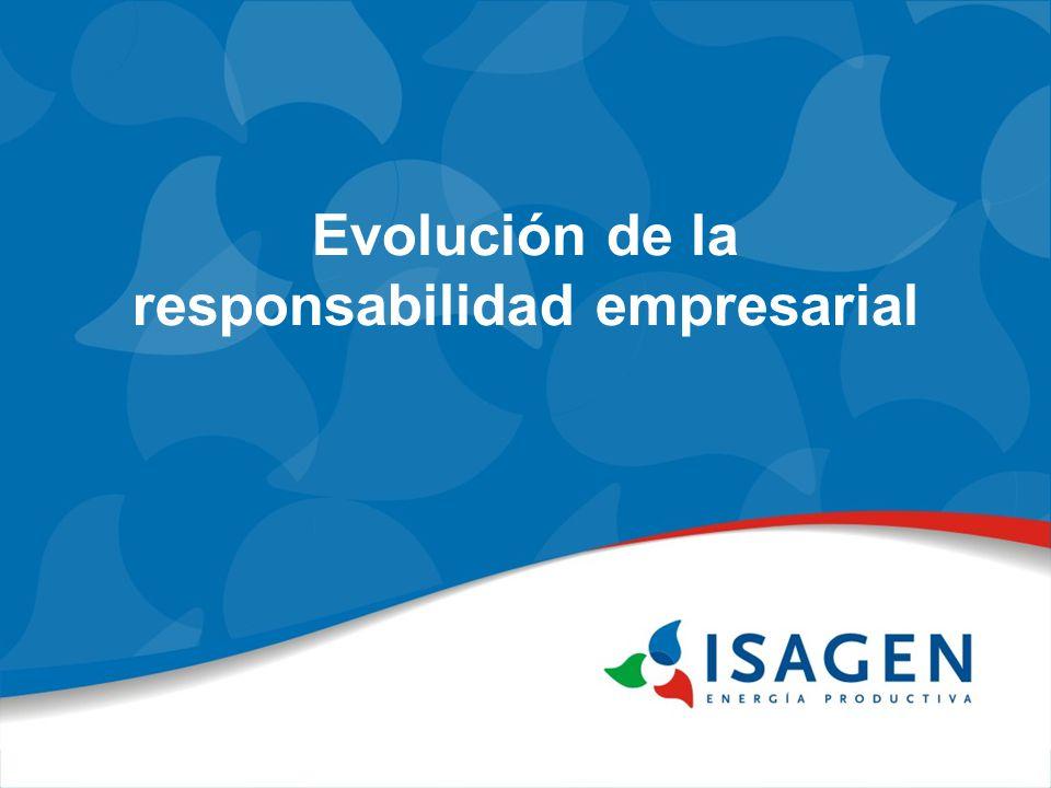 Evolución de la responsabilidad empresarial