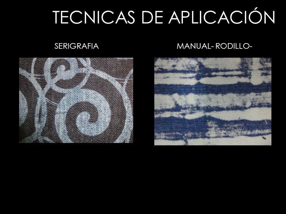 TECNICAS DE APLICACIÓN SERIGRAFIAMANUAL- RODILLO-