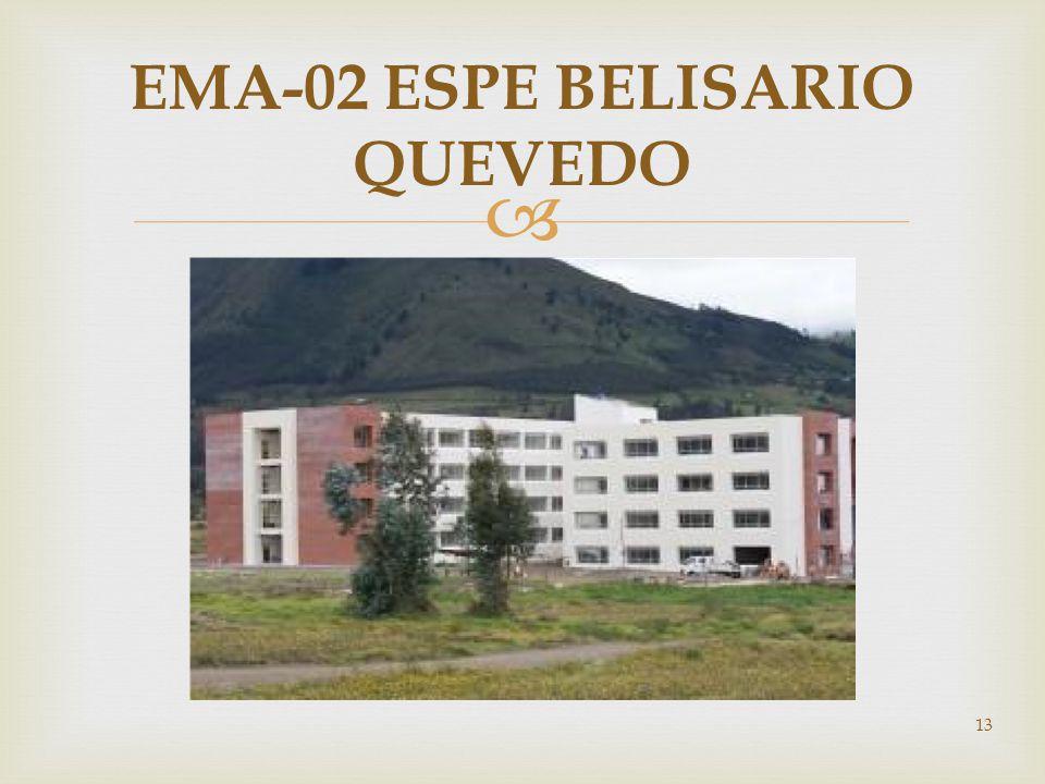 13 EMA-02 ESPE BELISARIO QUEVEDO