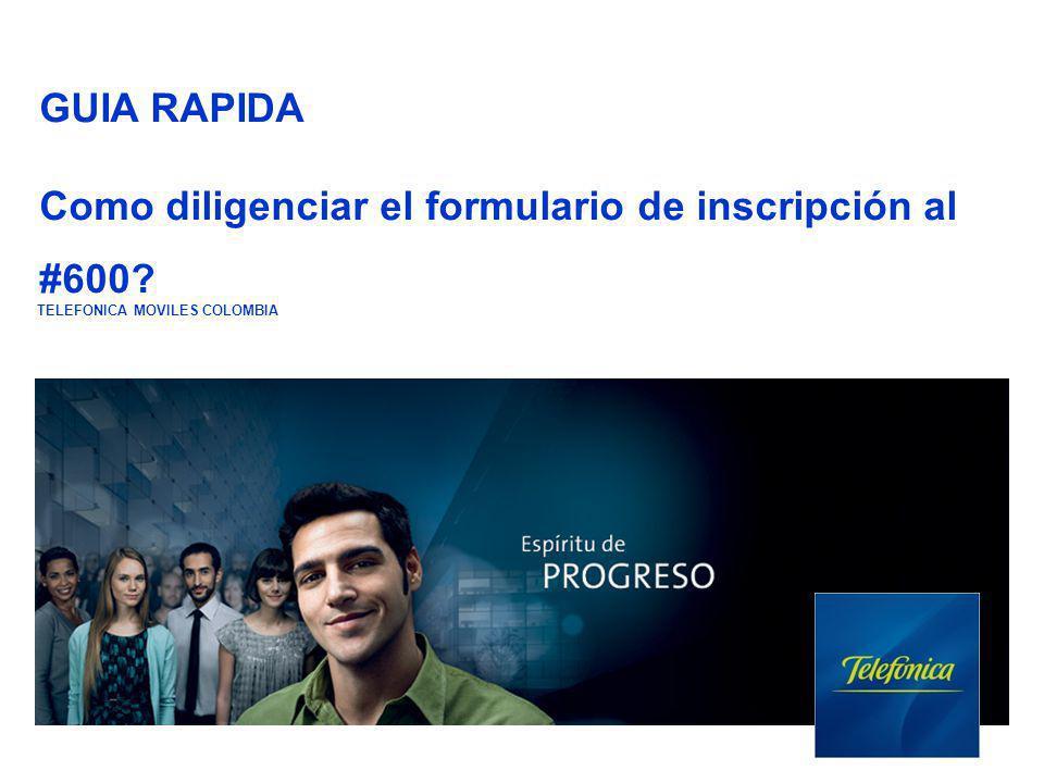 Ingrese por la página www.movistar.com.co para bajar el formulario siga la ruta con los cuadros rojos.www.movistar.com.co