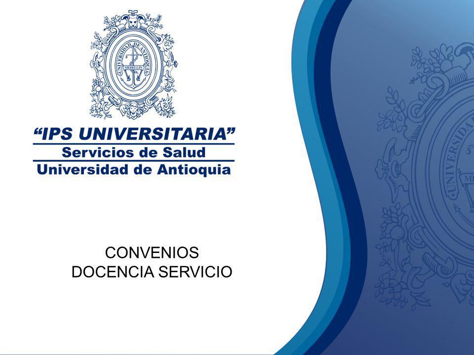 CONVENIOS DOCENCIA SERVICIO