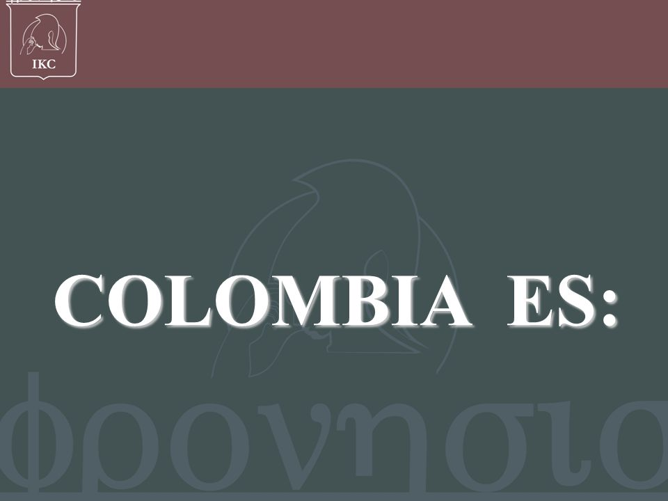 Francisco Javier Bernal V, COLOMBIA ES: