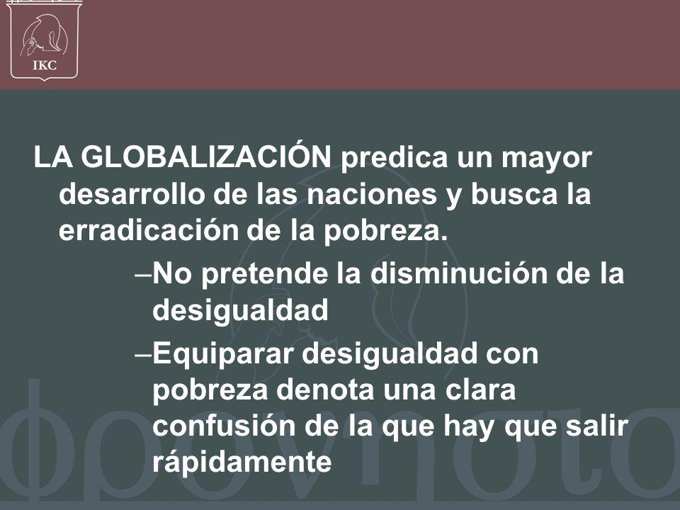 Francisco Javier Bernal V, La globalización no tiene un contenido moral, no es buena ni mala, es globalización.