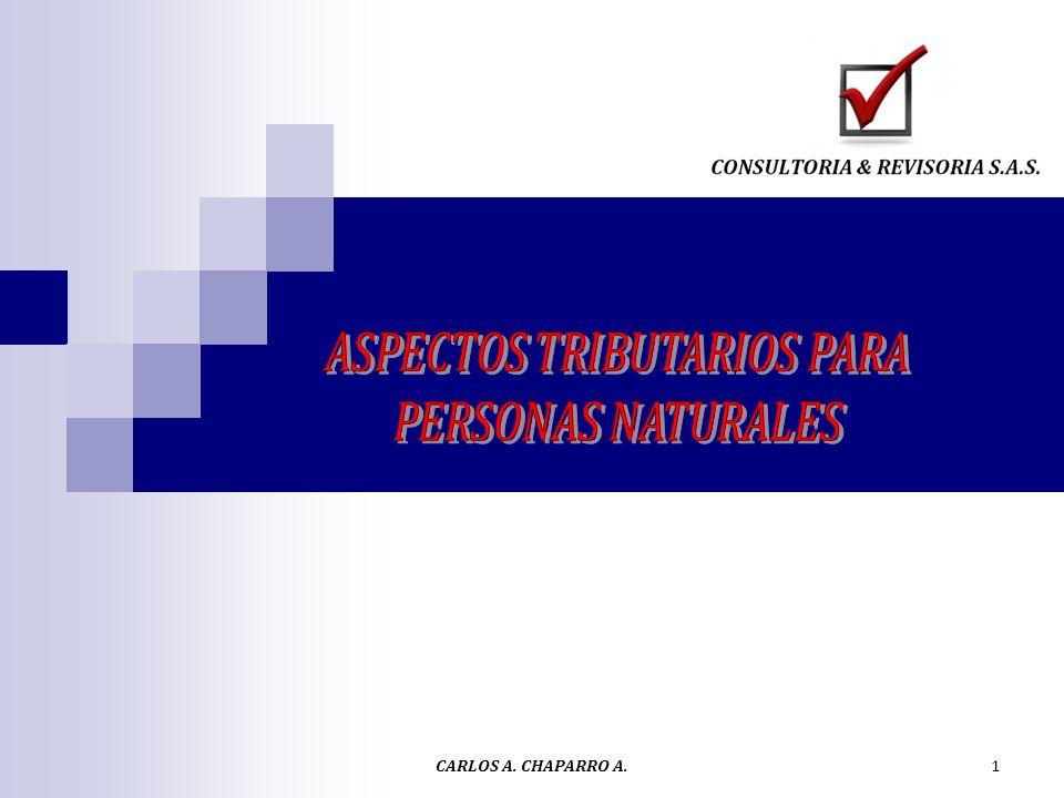 Personas Naturales En materia del impuesto sobre la renta y complementarios se establece una clasificación de personas naturales en Empleados y Trabajadores por cuenta propia.