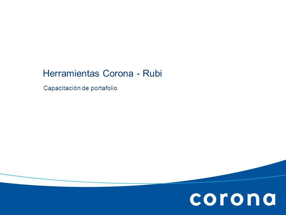 Capacitación de portafolio Herramientas Corona - Rubi