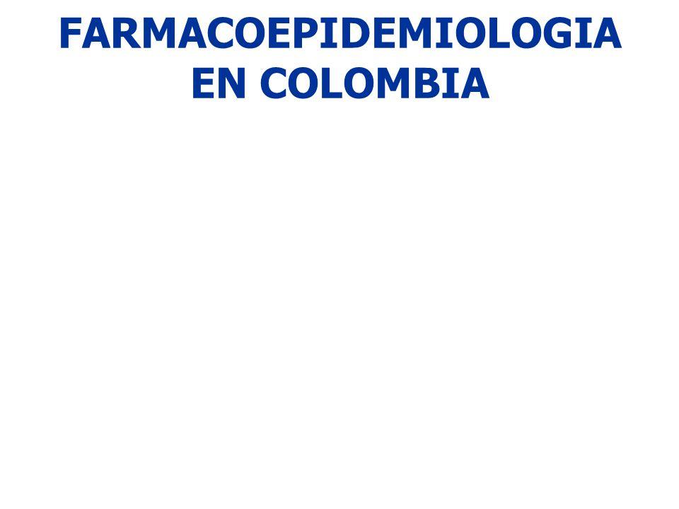 FARMACOEPIDEMIOLOGIA EN COLOMBIA