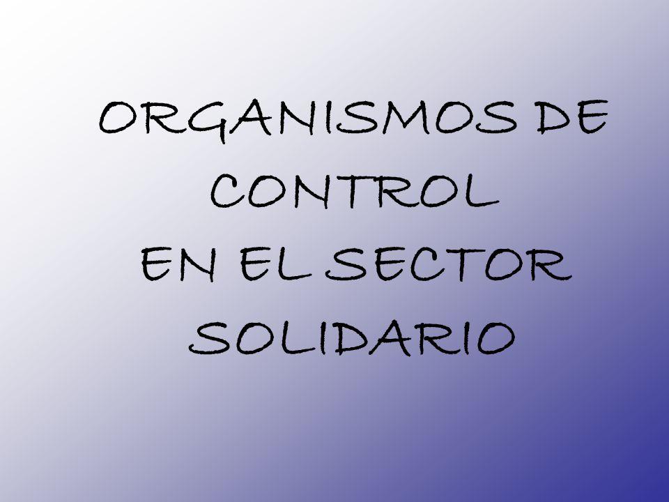ORGANISMOS DE CONTROL EN EL SECTOR SOLIDARIO