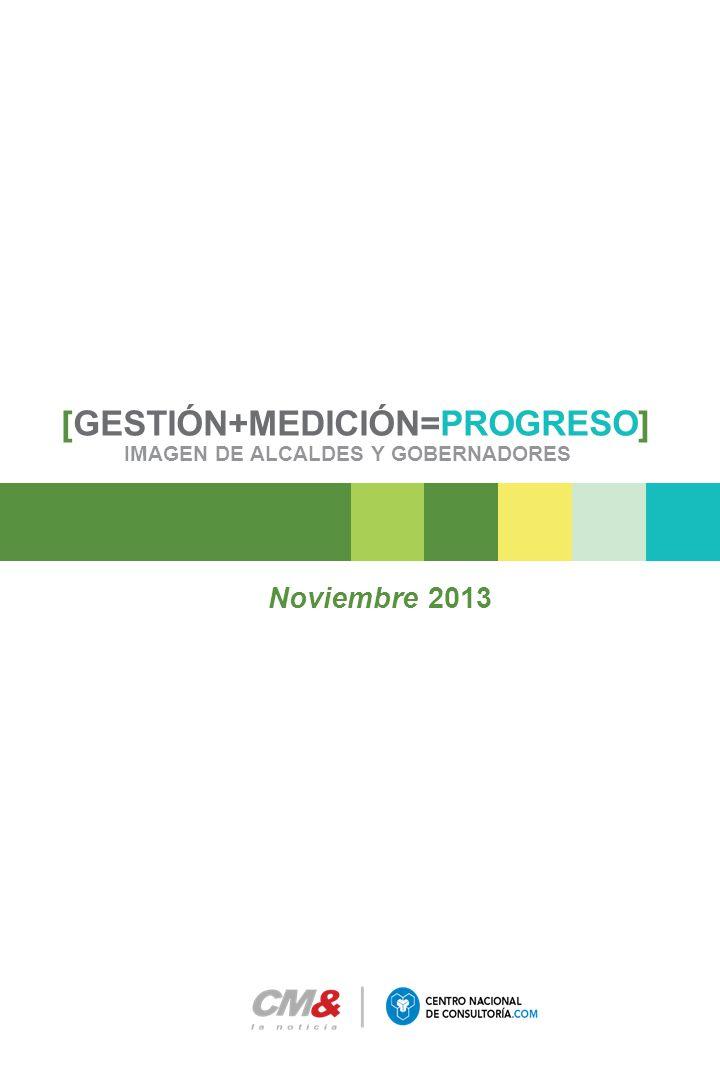 [GESTIÓN+MEDICIÓN=PROGRESO] IMAGEN DE ALCALDES Y GOBERNADORES Noviembre 2013