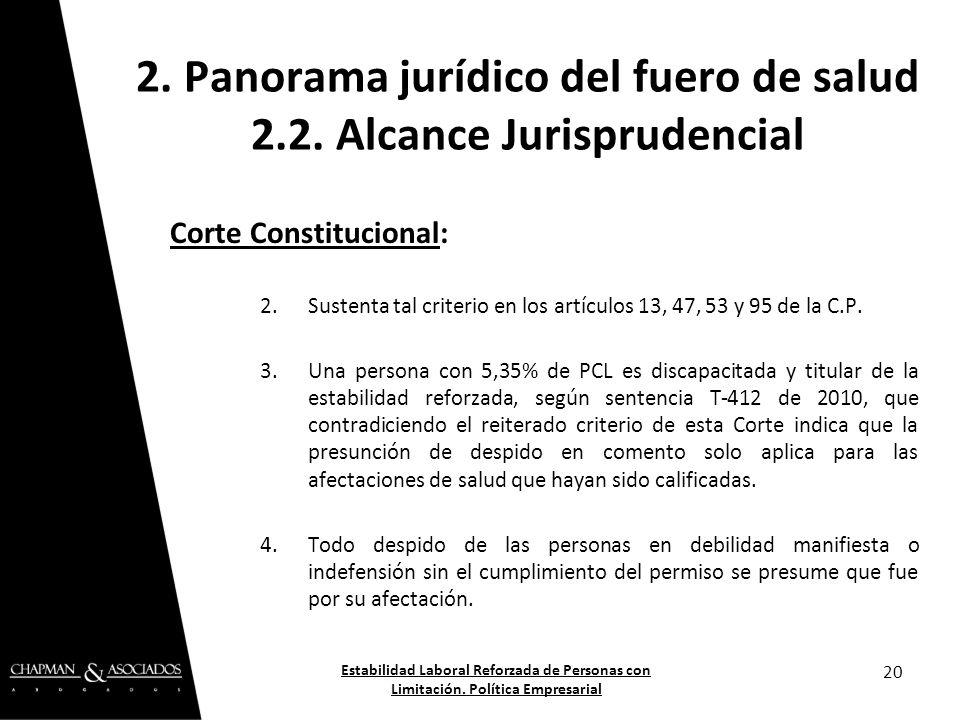 Corte Constitucional: 2.Sustenta tal criterio en los artículos 13, 47, 53 y 95 de la C.P. 3.Una persona con 5,35% de PCL es discapacitada y titular de