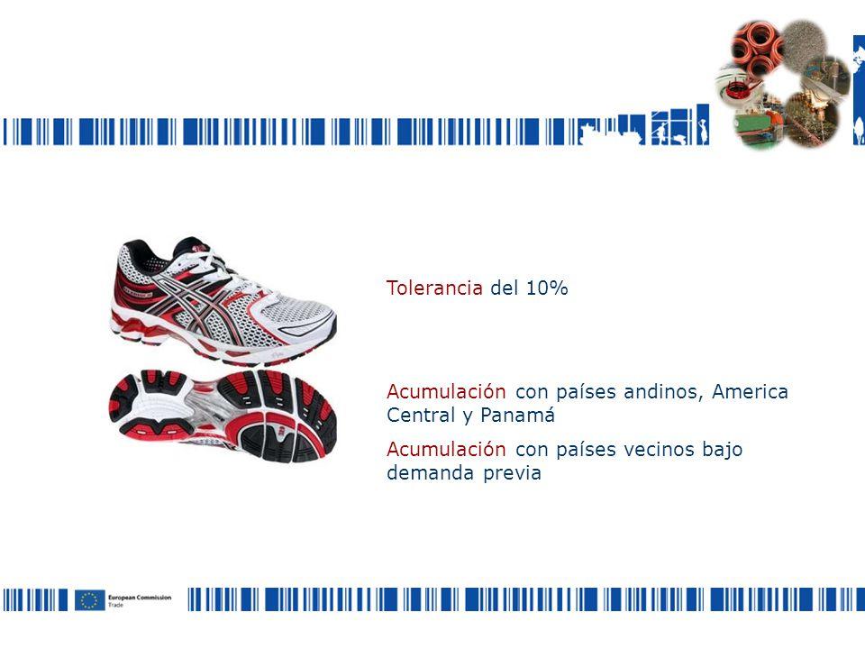 Tolerancia del 10% Acumulación con países andinos, America Central y Panamá Acumulación con países vecinos bajo demanda previa ¿Cómo puedo definir el origen de los productos transformados?