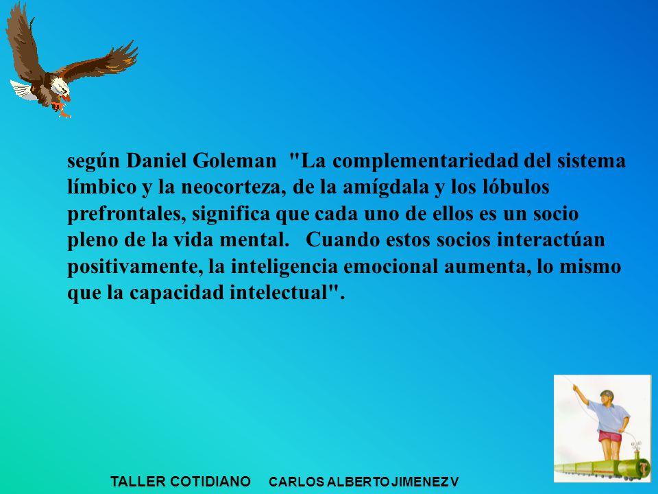 según Daniel Goleman