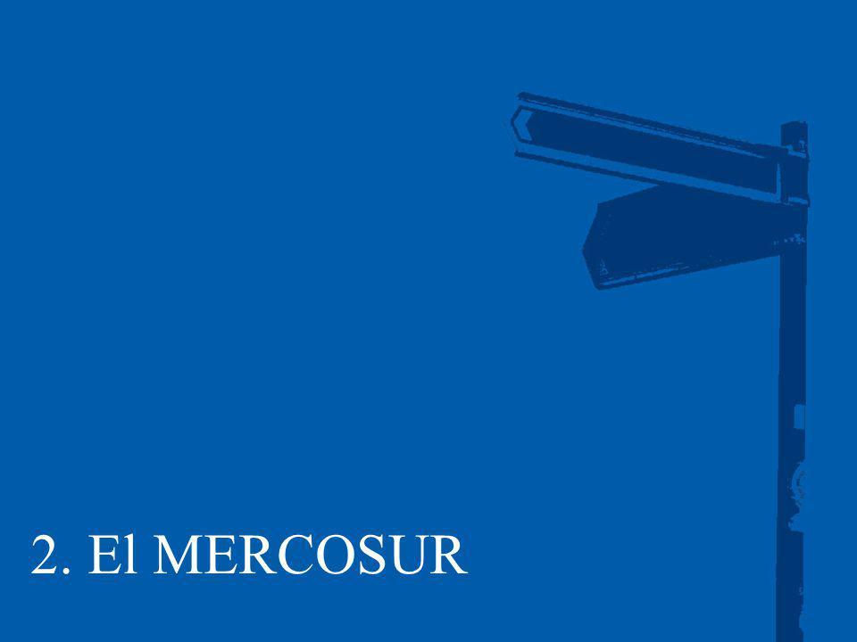 2. El MERCOSUR