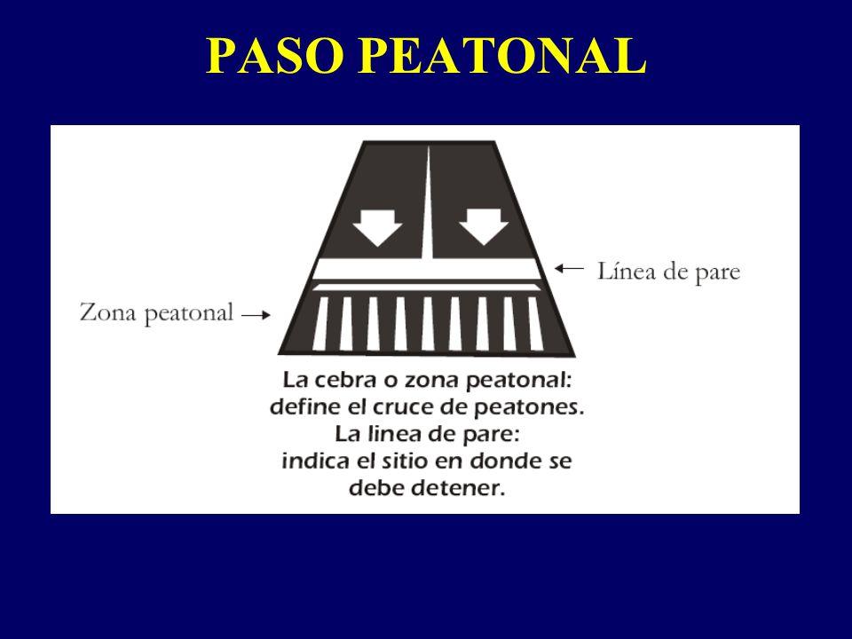 PASO PEATONAL