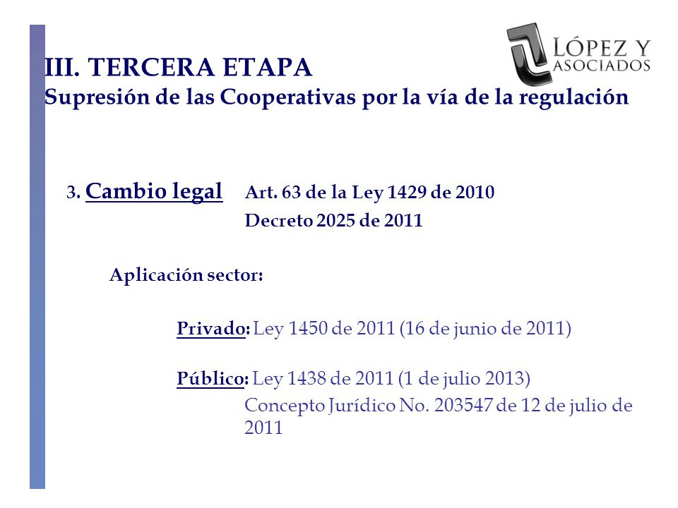 3. Cambio legal Art.