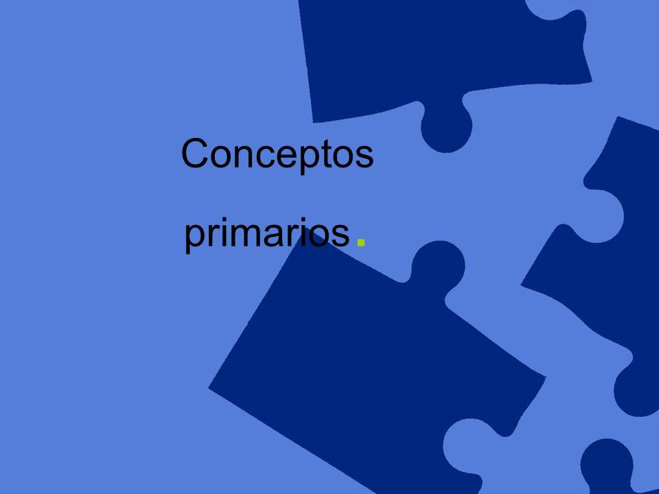Conceptos primarios.