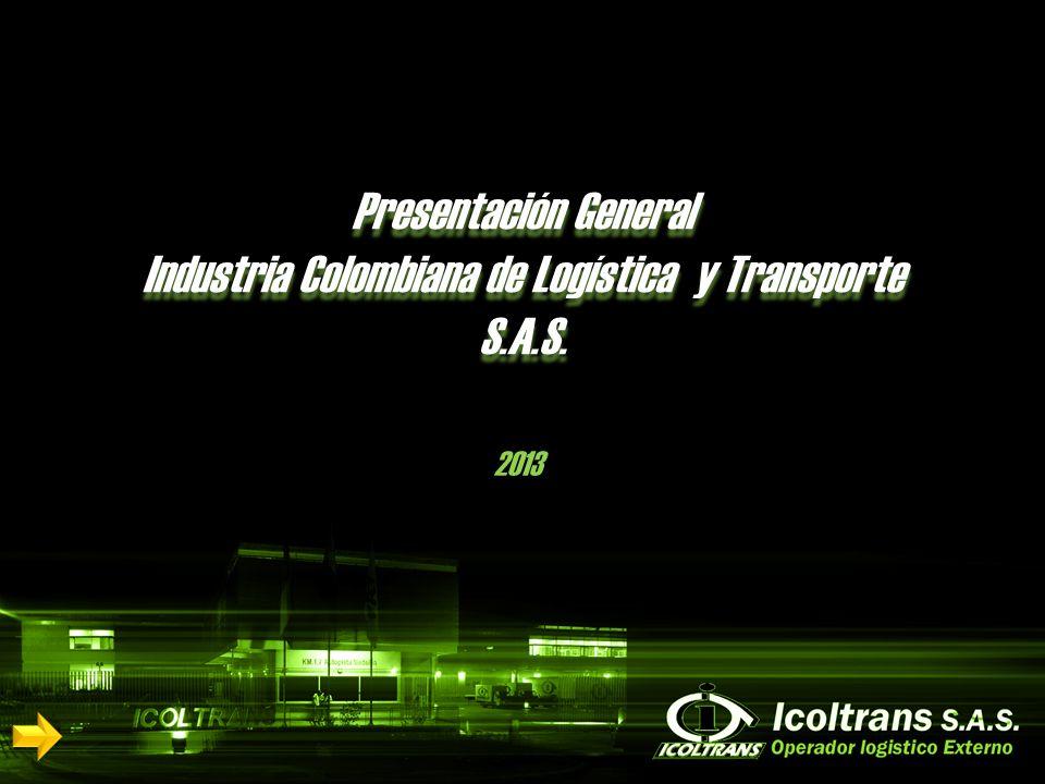 Presentación General Industria Colombiana de Logística y Transporte S.A.S. 2013