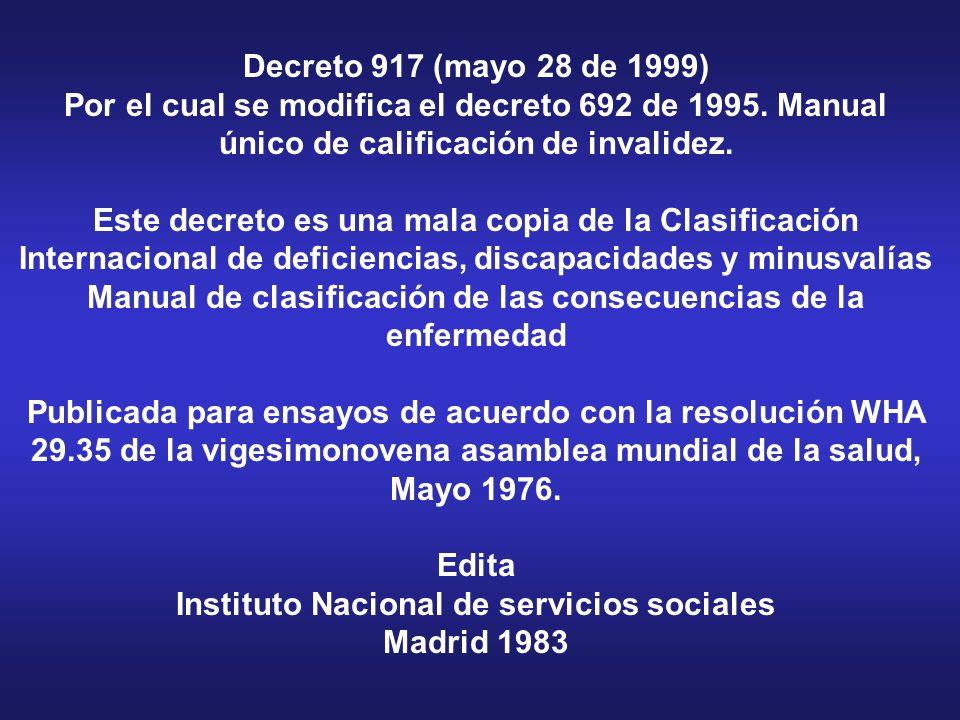 Decreto 1530 (26-Agosto-1996) Reglamenta parcialmente la ley 100 de 1993 y el Decreto 1295 de 1994. Decreto 1530 (26-Agosto-1996) Reglamenta parcialme