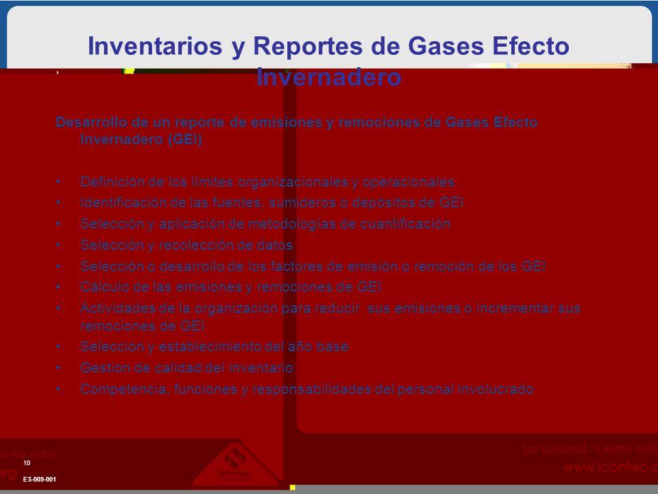 Desarrollo de un reporte de emisiones y remociones de Gases Efecto Invernadero (GEI) Definición de los límites organizacionales y operacionales Identi
