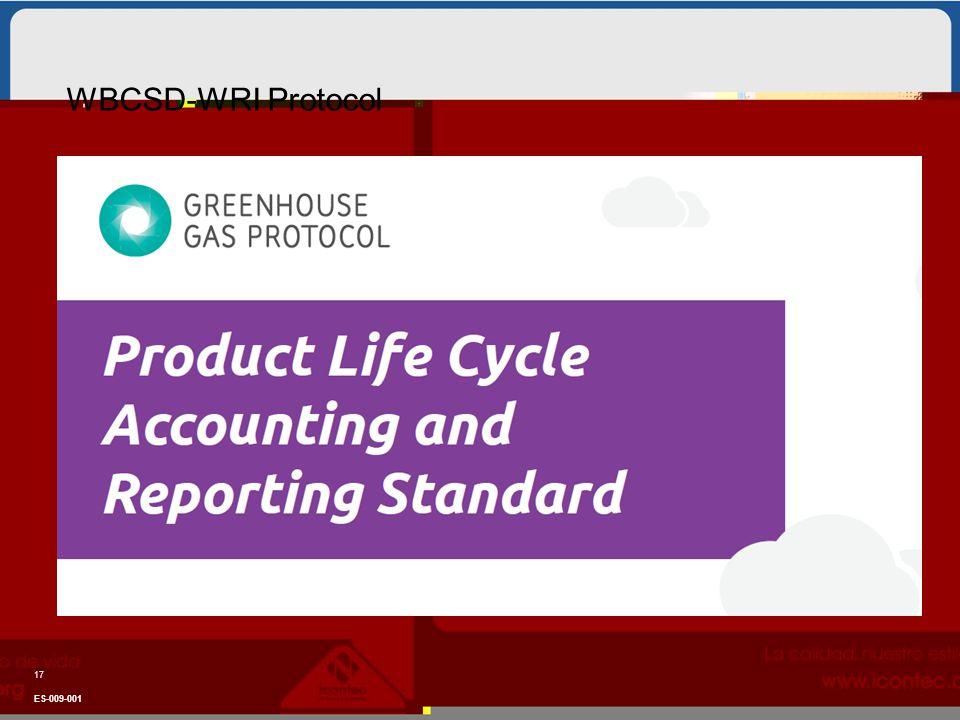 17 ES-009-001 WBCSD-WRI Protocol