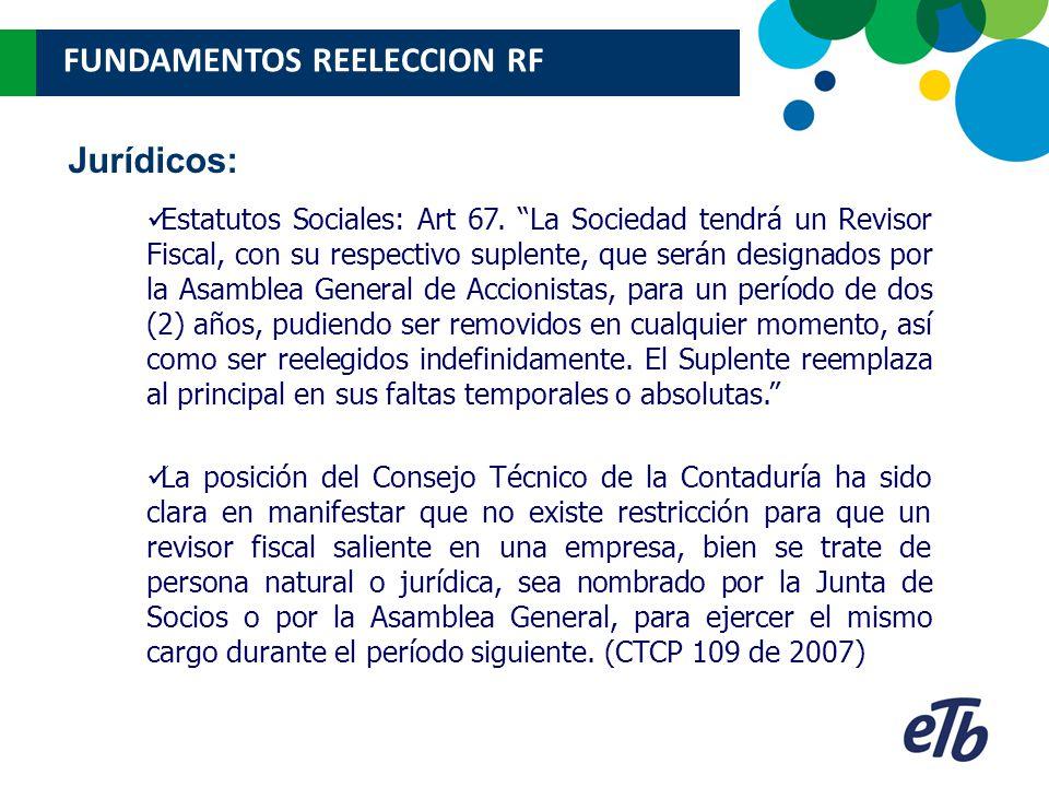 Estatutos Sociales: Art 67.