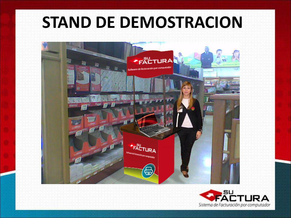 STAND DE DEMOSTRACION