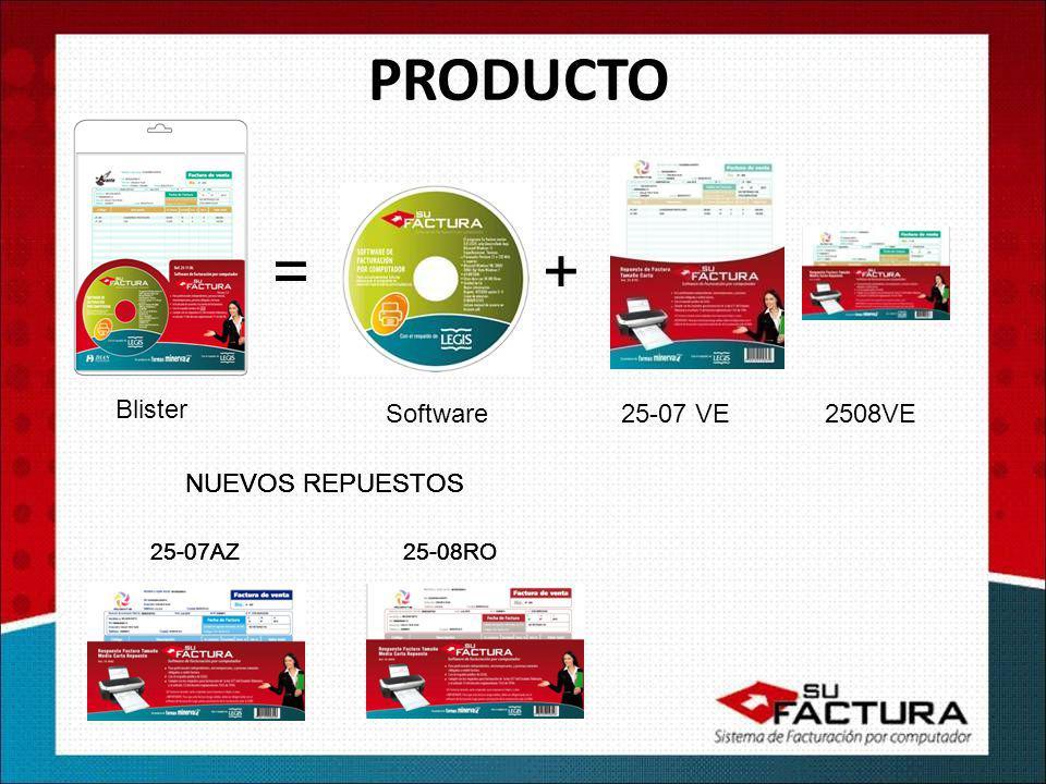 PRODUCTO =+ Blister Software25-07 VE 2508VE 25-07AZ 25-08RO NUEVOS REPUESTOS 25-07AZ 25-08RO NUEVOS REPUESTOS 25-07AZ 25-08RO NUEVOS REPUESTOS 25-07AZ 25-08RO NUEVOS REPUESTOS