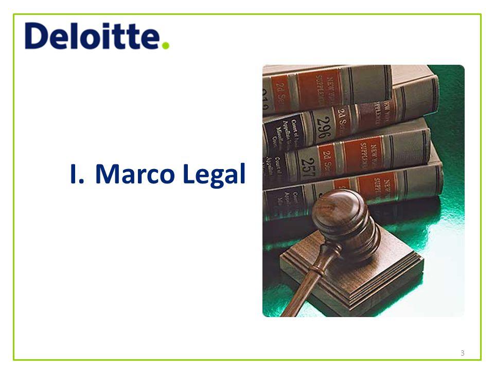 I. Marco Legal 3