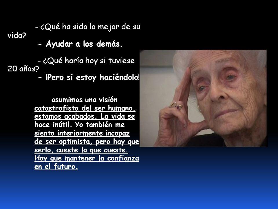 - ¿Lograremos un día curar el alzheimer, el parkinson, la demencia senil....