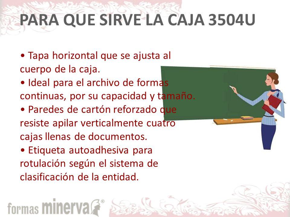 Armado Caja para Archivo Formas Continuas 35-04U COMO SE ARMA LA 3504U?