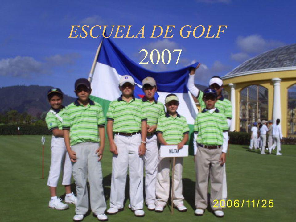 ESCUELA DE GOLF 2007