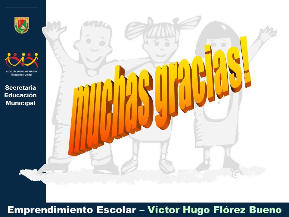 Secretaría Educación Municipal Emprendimiento Escolar – Víctor Hugo Flórez Bueno