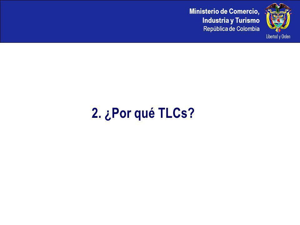 Ministerio de Comercio, Industria y Turismo República de Colombia Colombia ha iniciado una segunda fase en su internacionalización Panorama de la integración en 2006-2007 8.