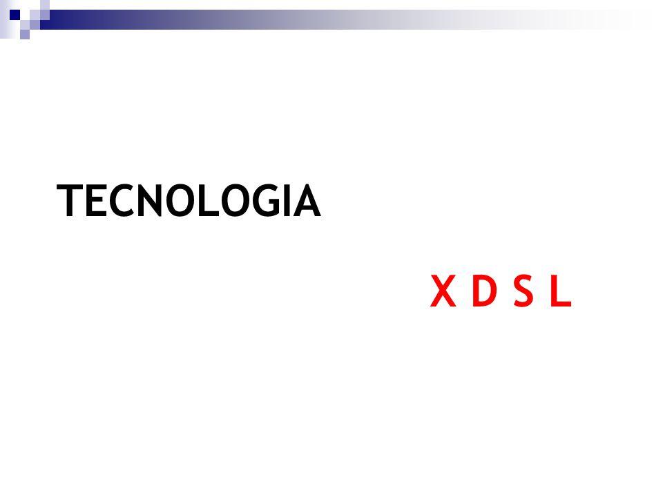 Se destacan principalmente: ADSL (Asymetric) HDSL (High-speed) IDSL (DSL over ISDN) SDSL (Symmetric) VDSL (Very high-speed) G.SHDSL (Single pair High-speed) Familias xDSL