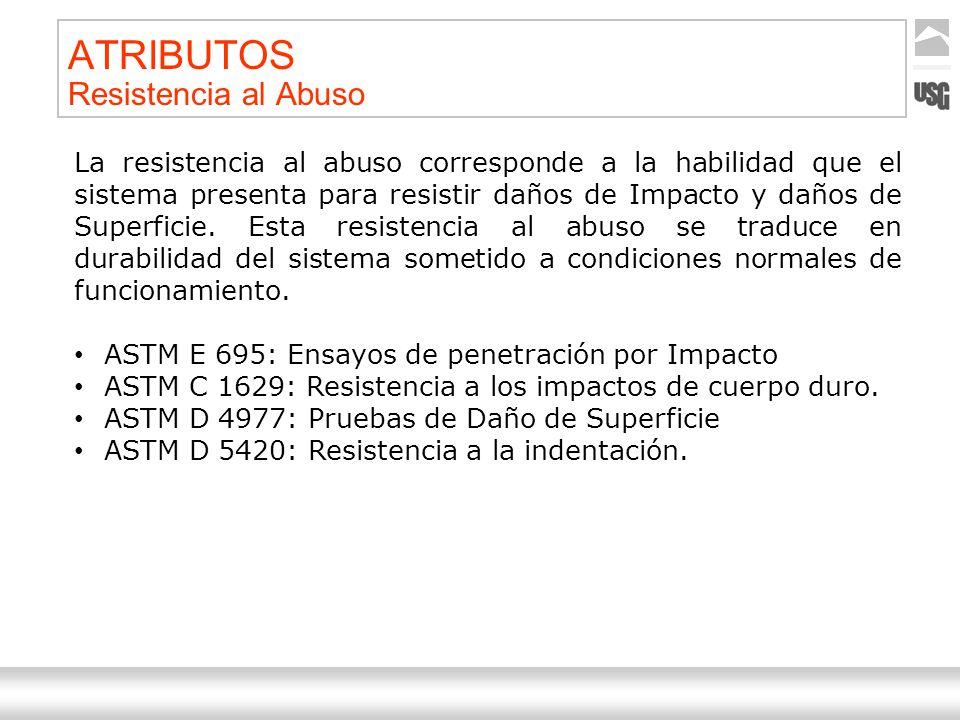 Aquí va el título de la presentación Ternium | Nombre Autor 18 ATRIBUTOS Resistencia al Abuso La resistencia al abuso corresponde a la habilidad que e