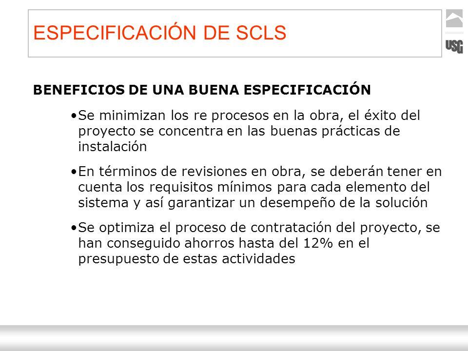 Aquí va el título de la presentación Ternium | Nombre Autor 45 BENEFICIOS DE UNA BUENA ESPECIFICACIÓN Se minimizan los re procesos en la obra, el éxit