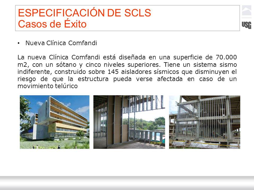 Laboratorios Ternium México Ternium | DICA 51 Nueva Clínica Comfandi La nueva Clínica Comfandi está diseñada en una superficie de 70.000 m2, con un só