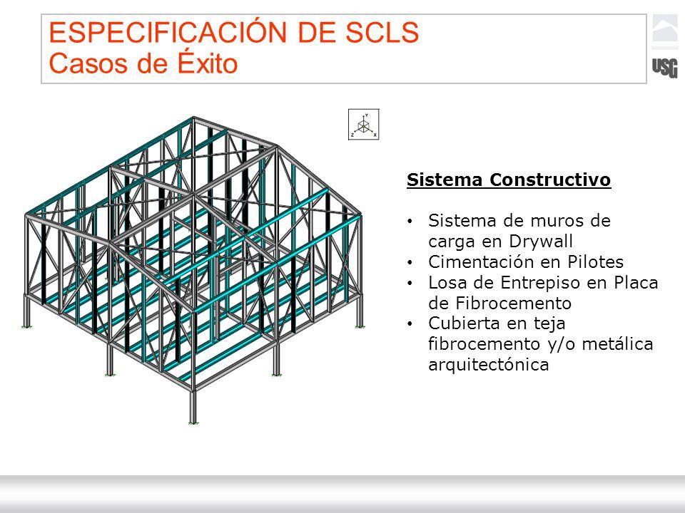 Laboratorios Ternium México Ternium | DICA 56 Sistema Constructivo Sistema de muros de carga en Drywall Cimentación en Pilotes Losa de Entrepiso en Pl