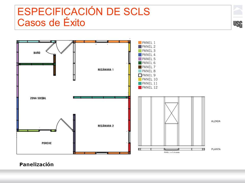 Laboratorios Ternium México Ternium | DICA 58 Panelización ESPECIFICACIÓN DE SCLS Casos de Éxito